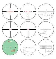 Reticles - set vector