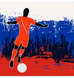 Football russia vector