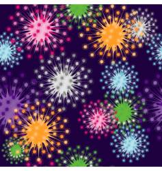 Retro burst pattern vector