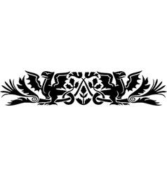 Medieval scotch pattern vector