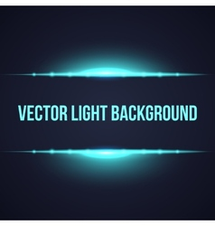 Horizontal bright frame light background vector
