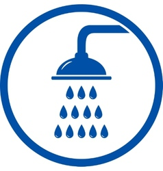 Shower head icon vector