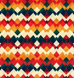 Vintage bright seamless pattern vector