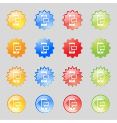 Mail icon envelope symbol message sms sign mails vector