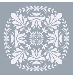 Ornamental floral element for design vector