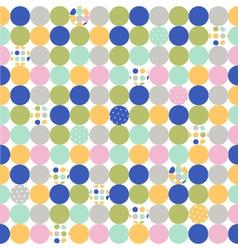 Fabric wallpaper vector