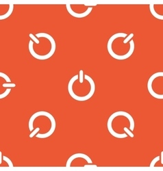 Orange power pattern vector