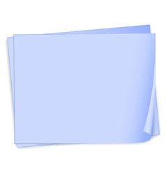 Empty bondpaper template vector