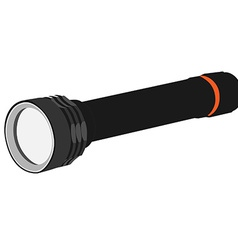 Pocket flashlight vector