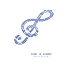 Purple drops chevron gclef musical vector