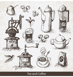 Coffee tea vector