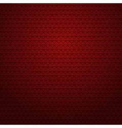 Red background with small hearts vector