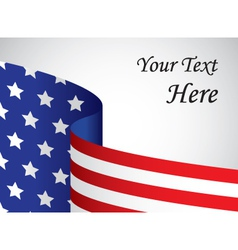 Usa banner with copy space vector