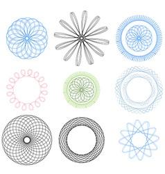 Spirographelements vector