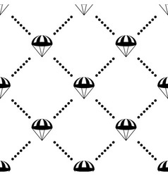 Parachute seamless pattern vector