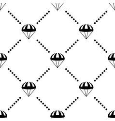 Parachute seamless pattern vector