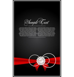 Abstract card for design vector