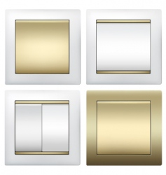 Light switches vector