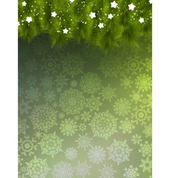 Background with christmas tree eps 10 vector