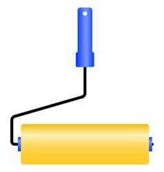 Painting roller vector