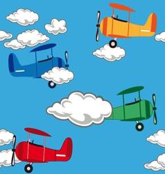 Airplanepattern vector