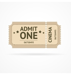 Color ticket vector