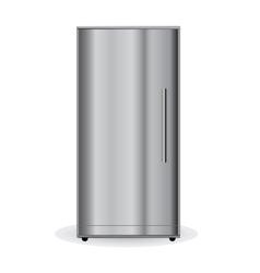Chrome refrigerator vector