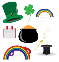 St parties icon vector