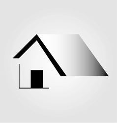 Abstract home logo vector