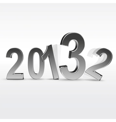 New year 2013 background vector