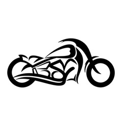 Motorcycle sketch vector