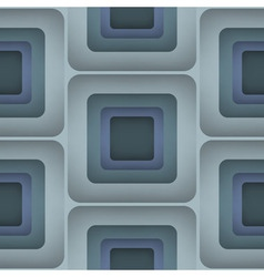 3d squares seamless pattern vector