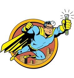 Retro classic super doctor vector