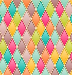 Diamonds fairy tale pattern vector