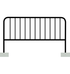 Black barrier vector