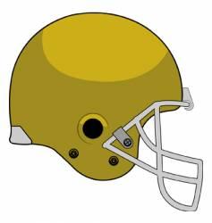 Helmet stock vector