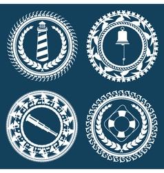 Nautical symbols 2 vector