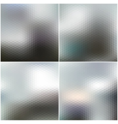 Web and mobile interface templates blurred vector