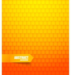 Abstract orange tiled background vector