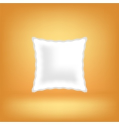 Soft pillow vector