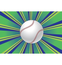 Baseball ball background vector