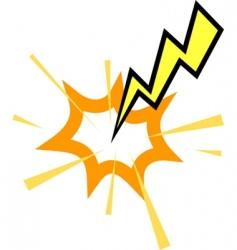 Lightning strike vector