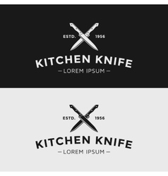 Kitchen knife vector