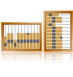 Maths abacus vector