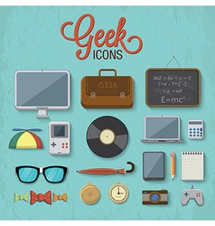 Geek accessories 2 vector