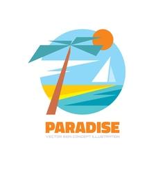 Paradise - logo creative vector