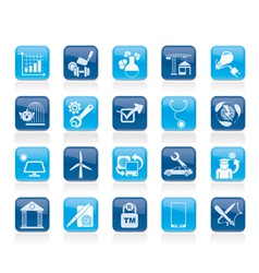 Internet and website portal icons vector