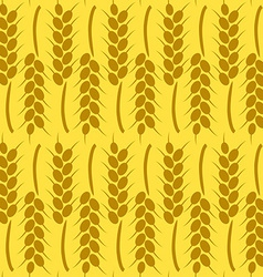 Harvest background for autumn seamless pattern vector
