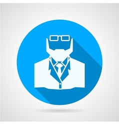 Flat icon for medicine doctor vector