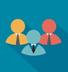 Teamwork symbol vector